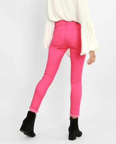 Push-up Skinny Jeans Rosa