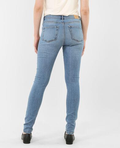 Jeans skinny azul natural