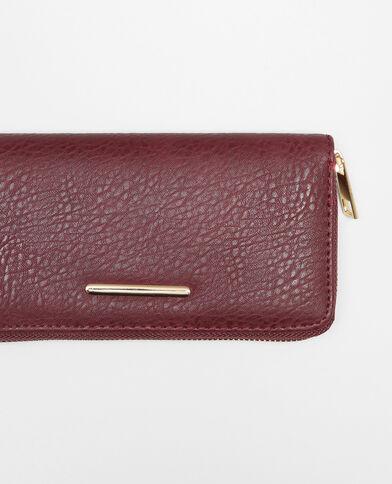 Lange portefeuille rood