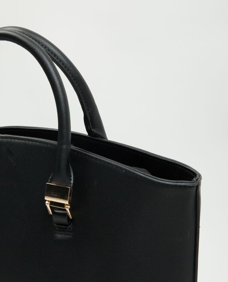 gro e tasche mit rei verschluss schwarz 983087899j08 pimkie. Black Bedroom Furniture Sets. Home Design Ideas