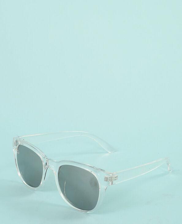 Gafas de sol transparentes blanco