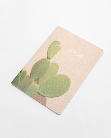Block notes cactus Beige