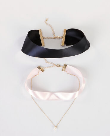 Colliers chokers noir