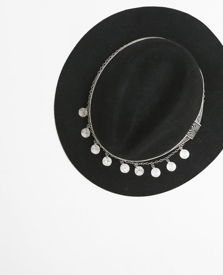 ... accessoires Chapeau et bonnet chapeau Chapeau fedora galon ethnique