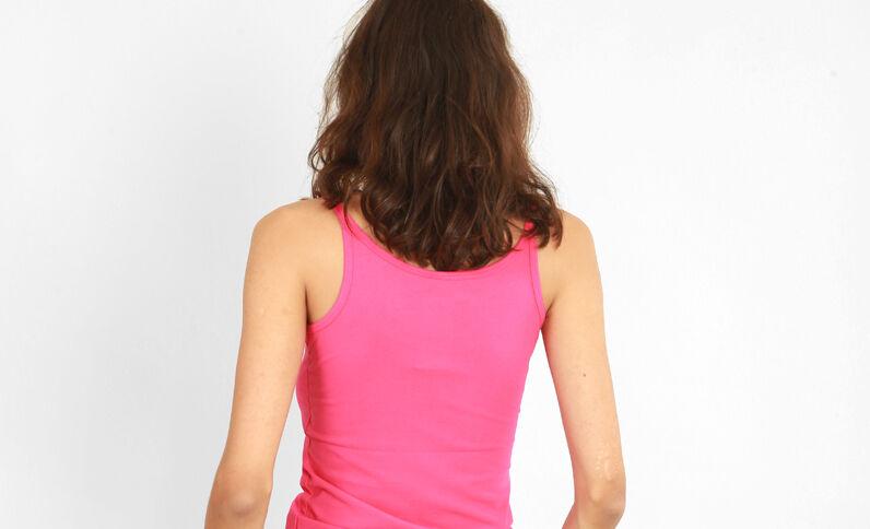 Camiseta de tirantes básica Rosa