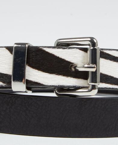 Cintura zebrata nero