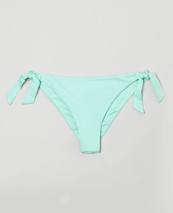 Bikinislip in tangamodel watergroen