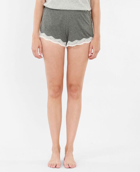 Short homewear grigio
