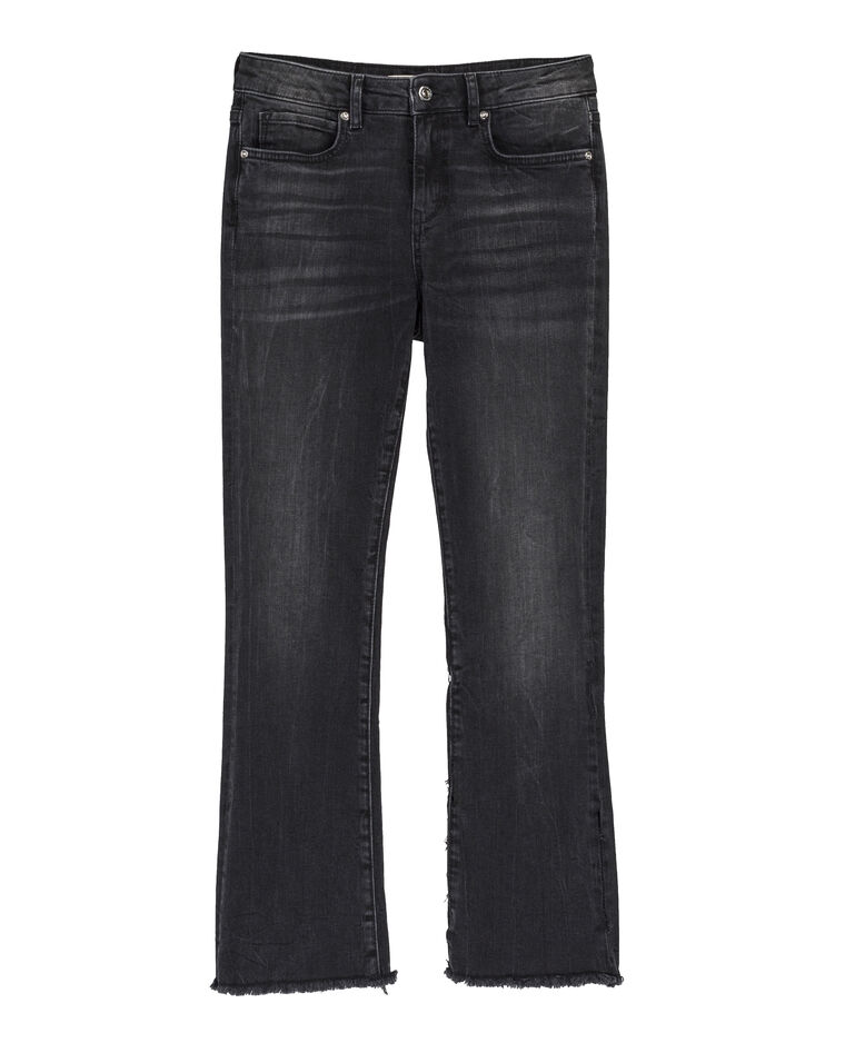 Jeans kick flare nero 140186899a08 pimkie for Decorazione jeans