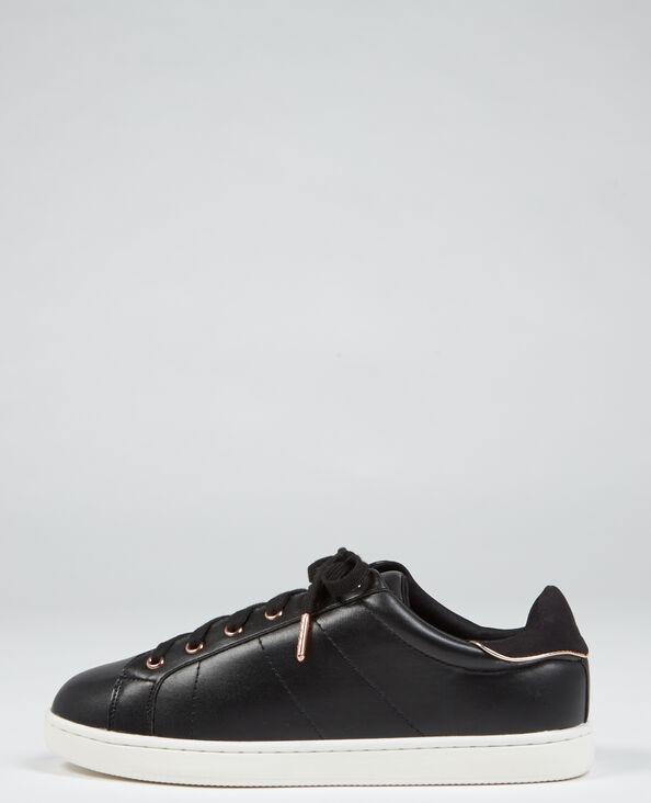 Baskets chic noir