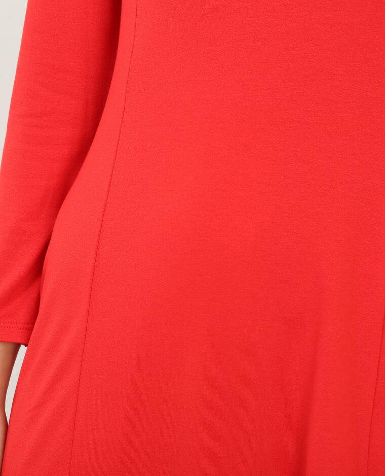 Trapez-Kleid Rot