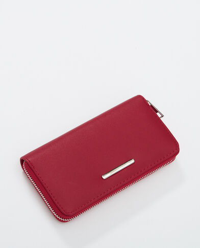 Portefeuille compagnon rouge