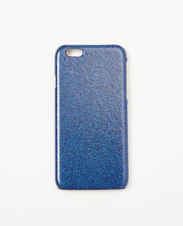 Coque glitter compatible Iphone 6/6S bleu électrique