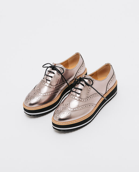 Metallic Derbies Bronze