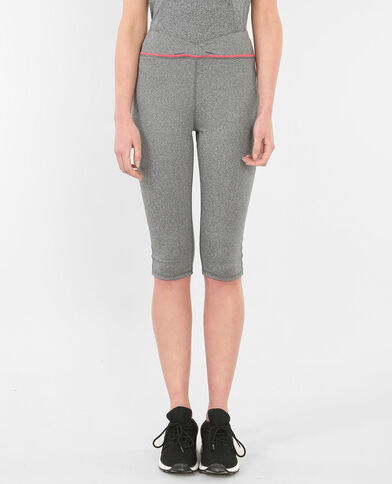Legging technique court gris anthracite