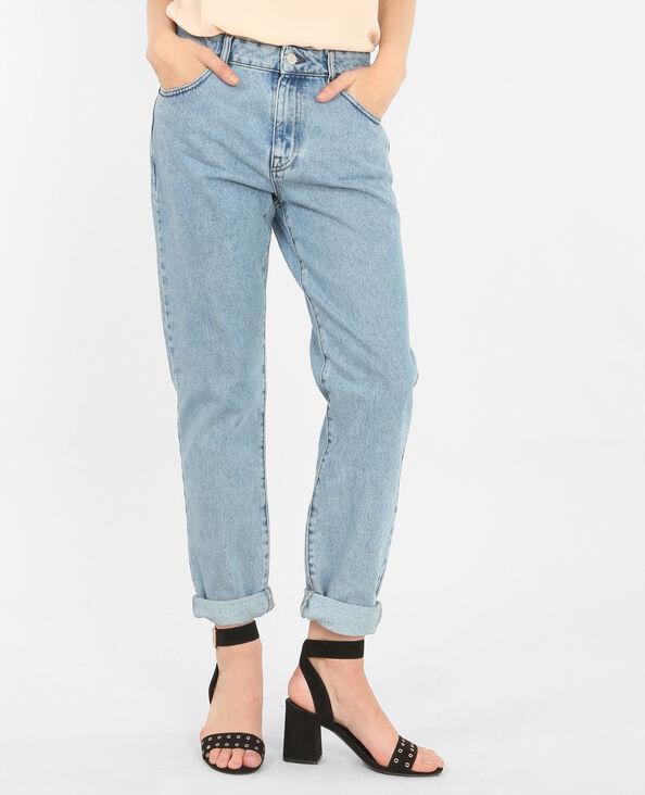 Jeans mom blu