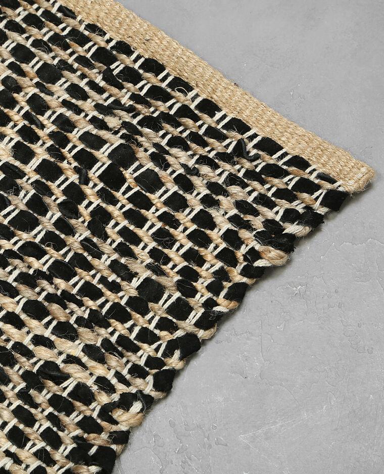 Alfombra de varios tejidos negro 902238899i07 pimkie for Tejidos de alfombras