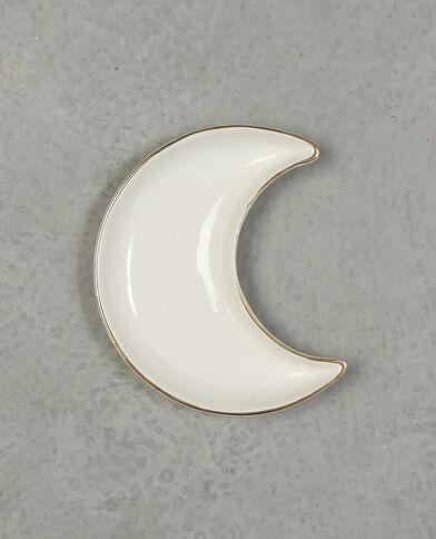 Vide poche lune blanc cassé
