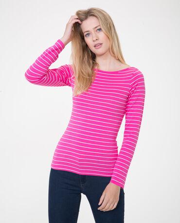 T-shirt basique rose