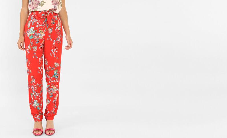 Pantalone morbido rosso