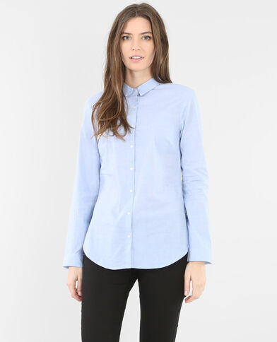 Chemise bleue bleu