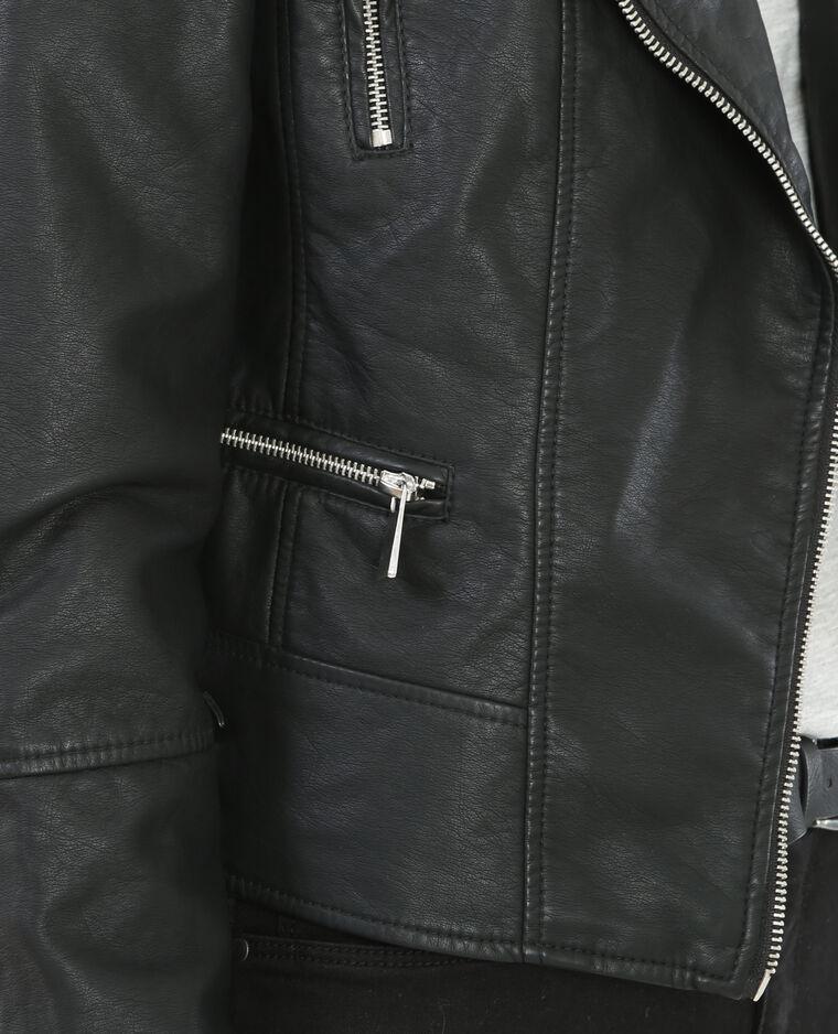 Cazadora de tipo perfecto negro