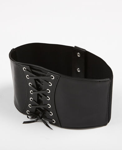 Korsettgürtel Schwarz