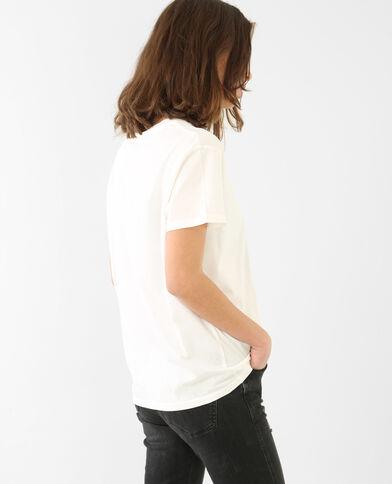T-shirt Rolling Stones bianco sporco
