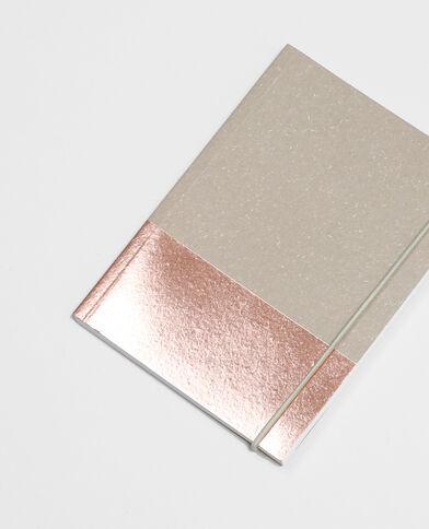 Notebook craft e rame Beige