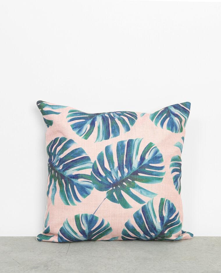 housse de coussin feuilles de palmier rose 902770a20i05 pimkie. Black Bedroom Furniture Sets. Home Design Ideas