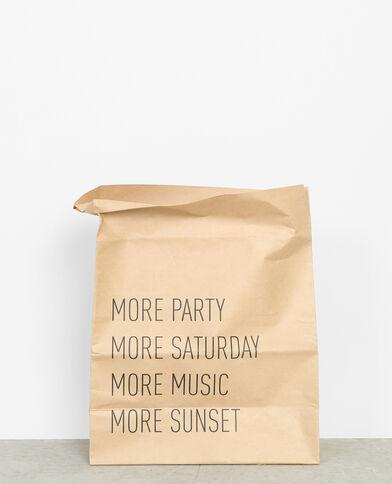Petit paper bag brun