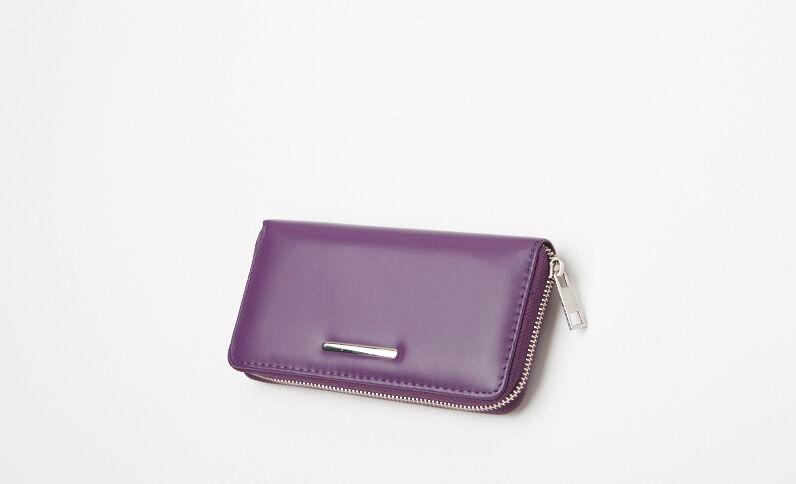 Portefeuille compagnon violet