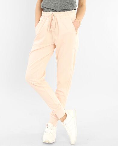 Pantalones de jogging rosa