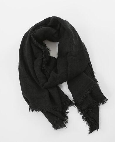 Bufanda fina negro