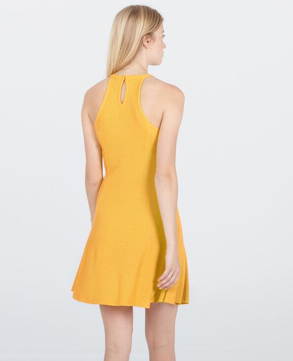 A-lijnjurk geel