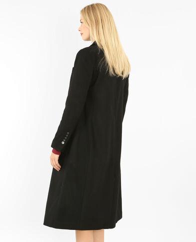 Manteau long officier noir