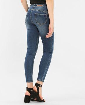Jean skinny push up bleu denim