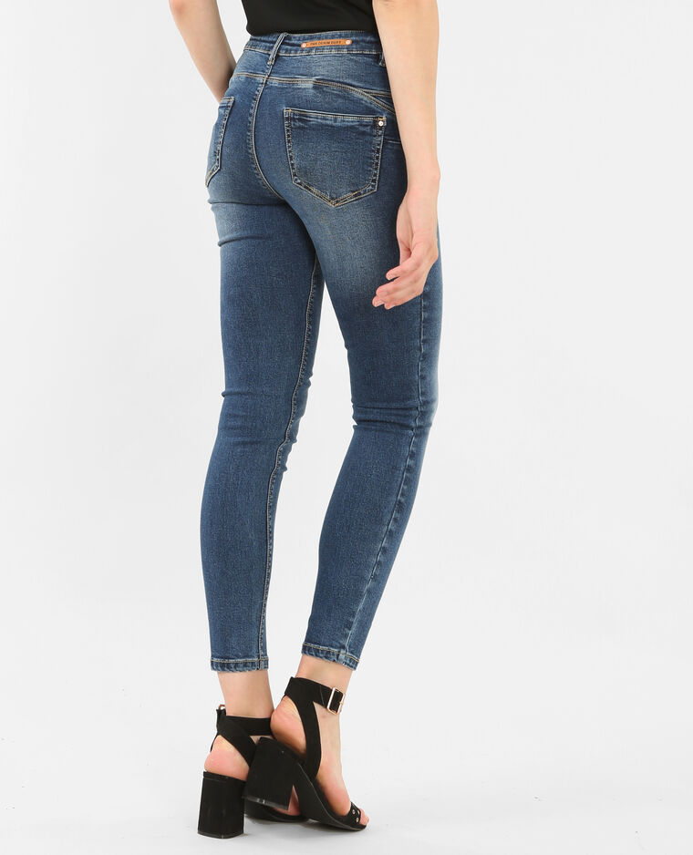 skinny jeans mit push up effekt denimblau 186107683a06. Black Bedroom Furniture Sets. Home Design Ideas