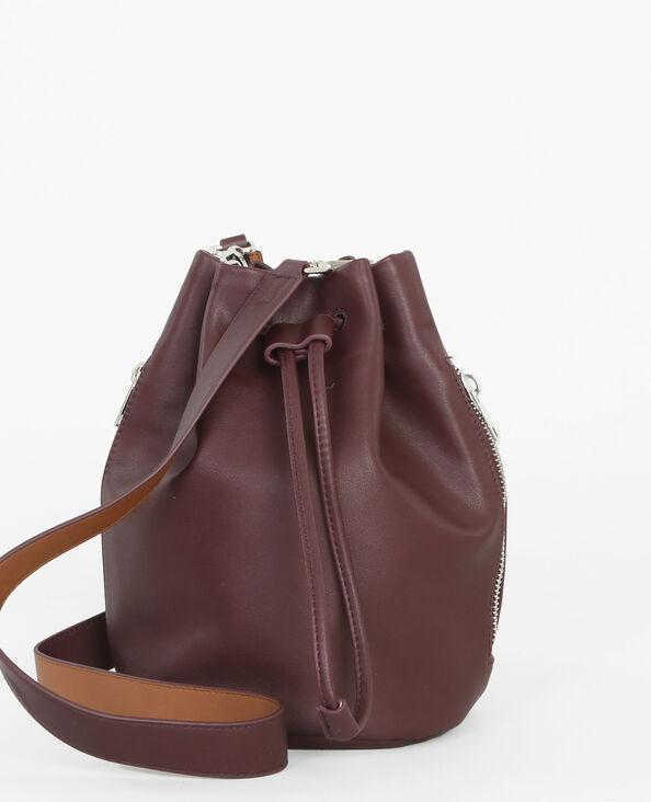 Bolso saco granate