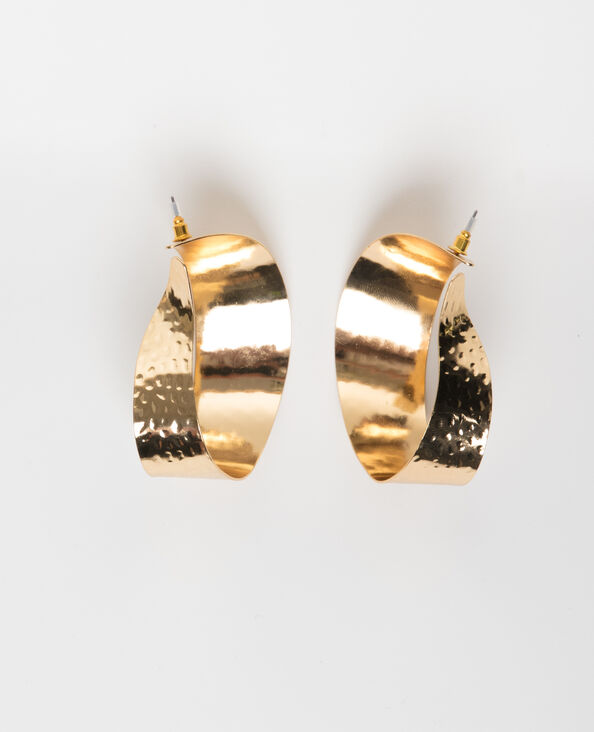 Maxi-Ohrringe Gold