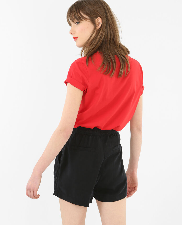 t shirt mit schriftzug rot 403321342n48 pimkie. Black Bedroom Furniture Sets. Home Design Ideas