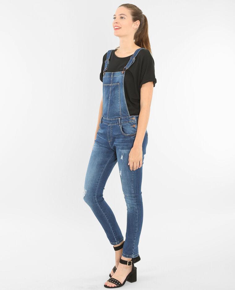 jeans latzhose blau 174030696a06 pimkie. Black Bedroom Furniture Sets. Home Design Ideas
