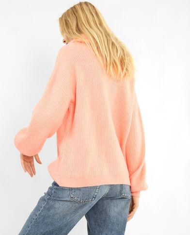 XL-Pullover Rosa