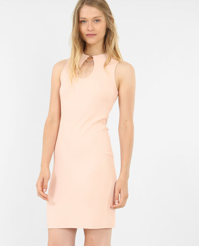 Strakke jurk roze