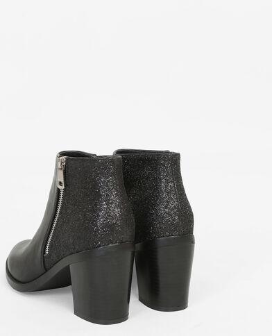 Botas glitter negro