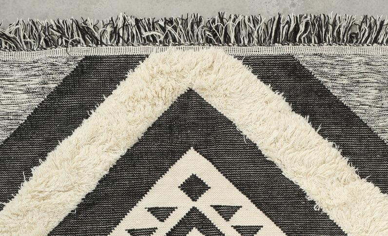Groot Berbers tapijt grijs