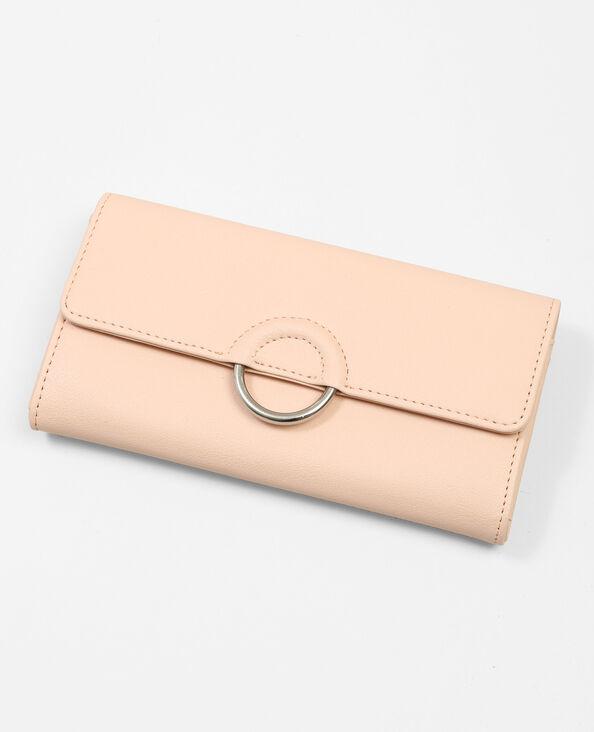 Portefeuille met ring roze