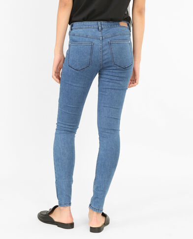 Basic jegging hemelsblauw