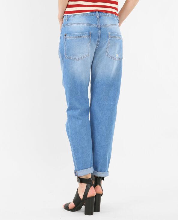Jeans girlfriend destroy blu cielo
