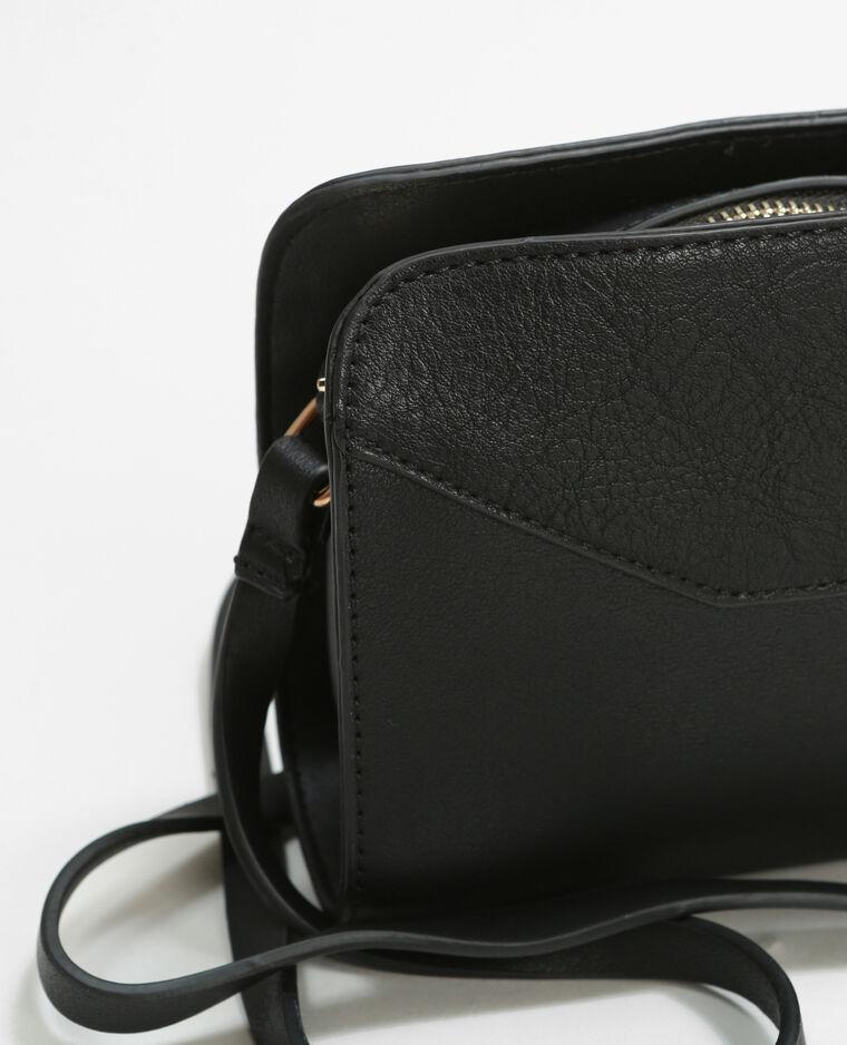 kleine tasche mit rei verschluss schwarz 980143899a08 pimkie. Black Bedroom Furniture Sets. Home Design Ideas